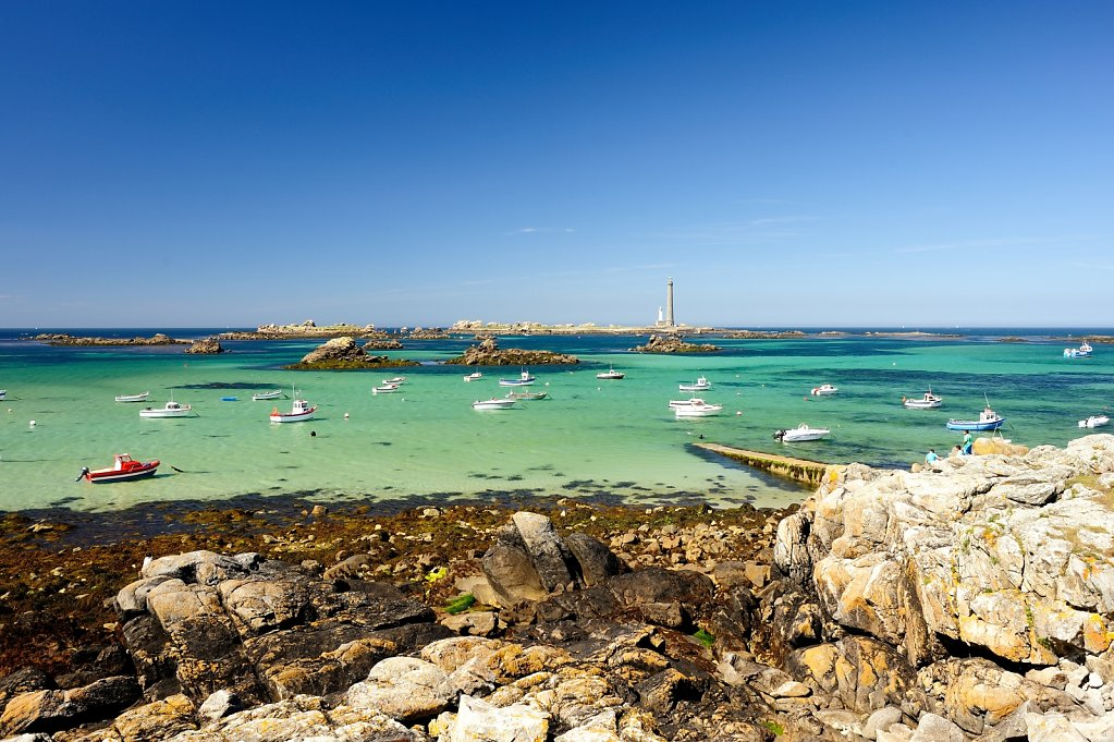 The lighthouse of virgin island - Plouguerneau, France