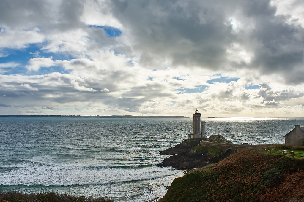 The lighthouse of Little pussycat - Brittany, France