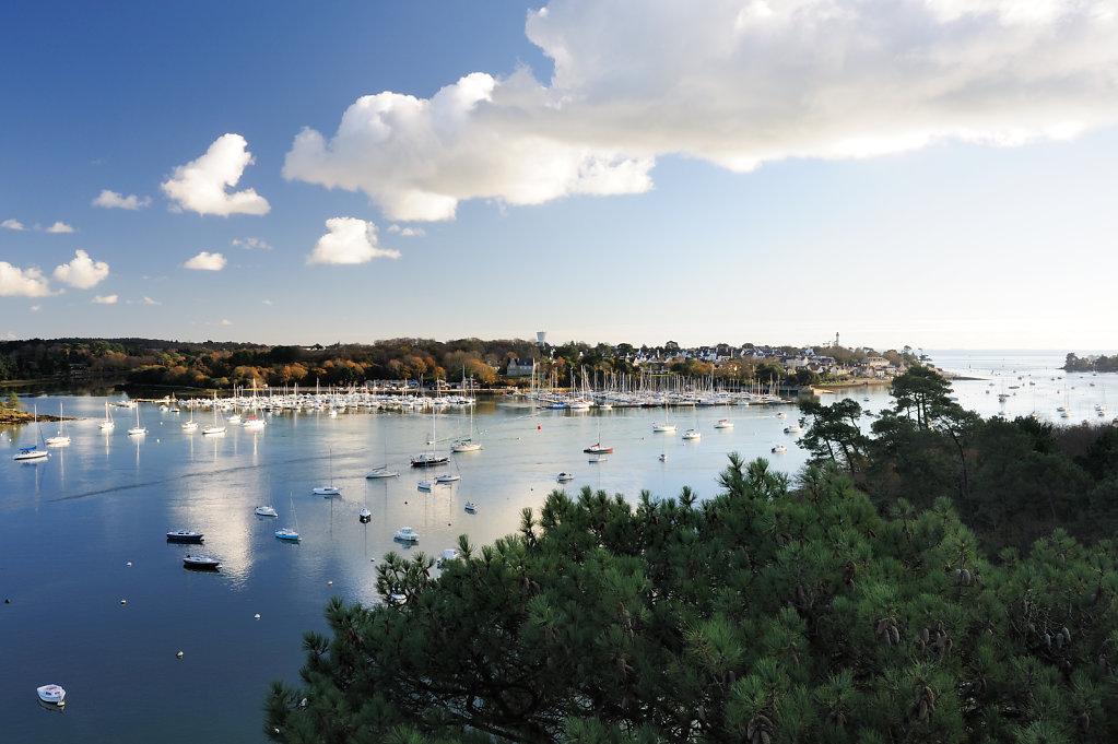 Marina - Benodet, France