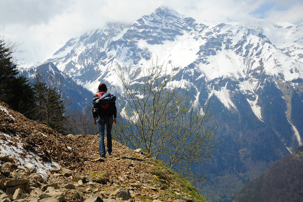 Mountain walking - Pyrenees, France