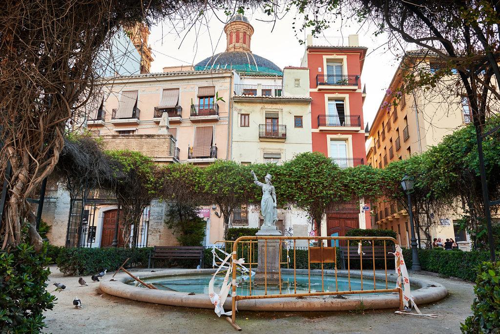 Plaça de Joan de Vila-rasa - Valencia, Spain
