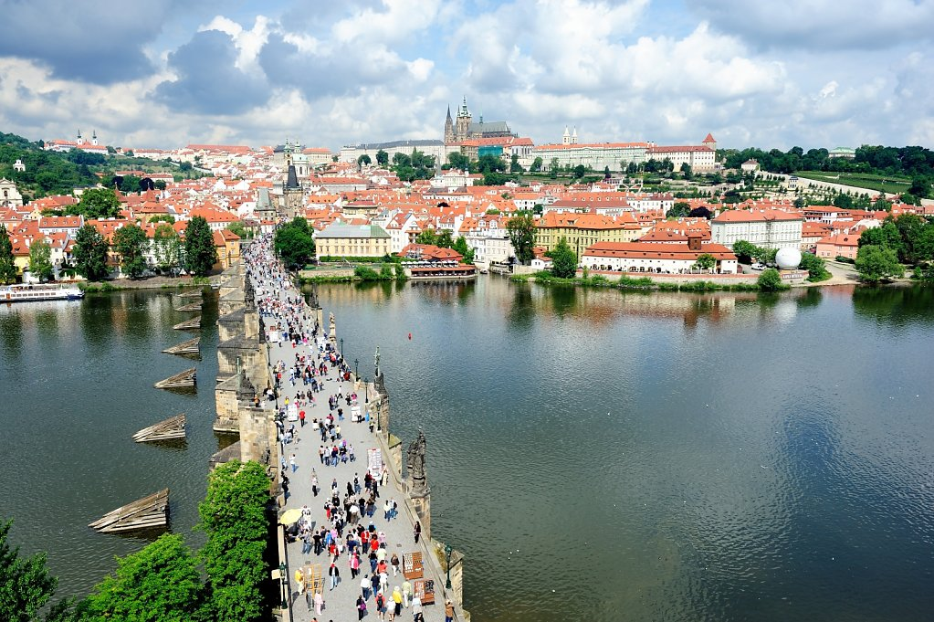 Charles Bridge - Praha, Czech republic
