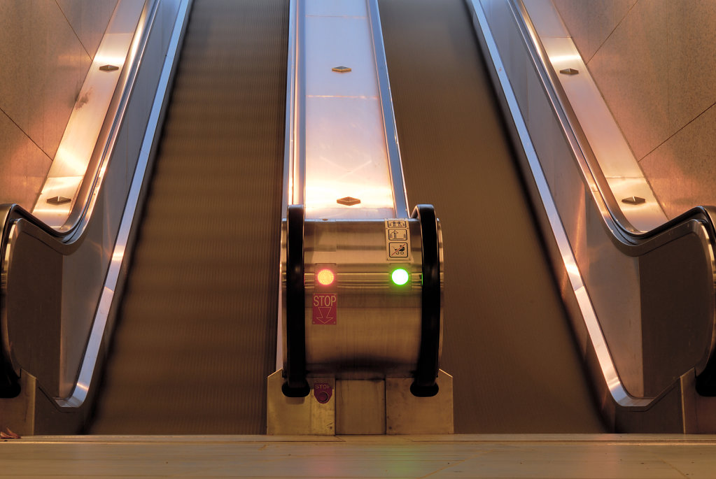 Double escalator - Toulouse, France