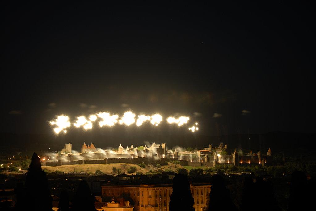 Carcassonne, fireworks II, France