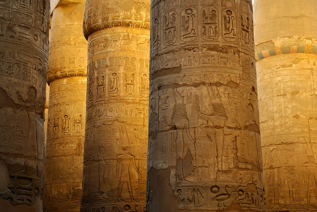Great Hypostyle Hall - Luxor, Egypt