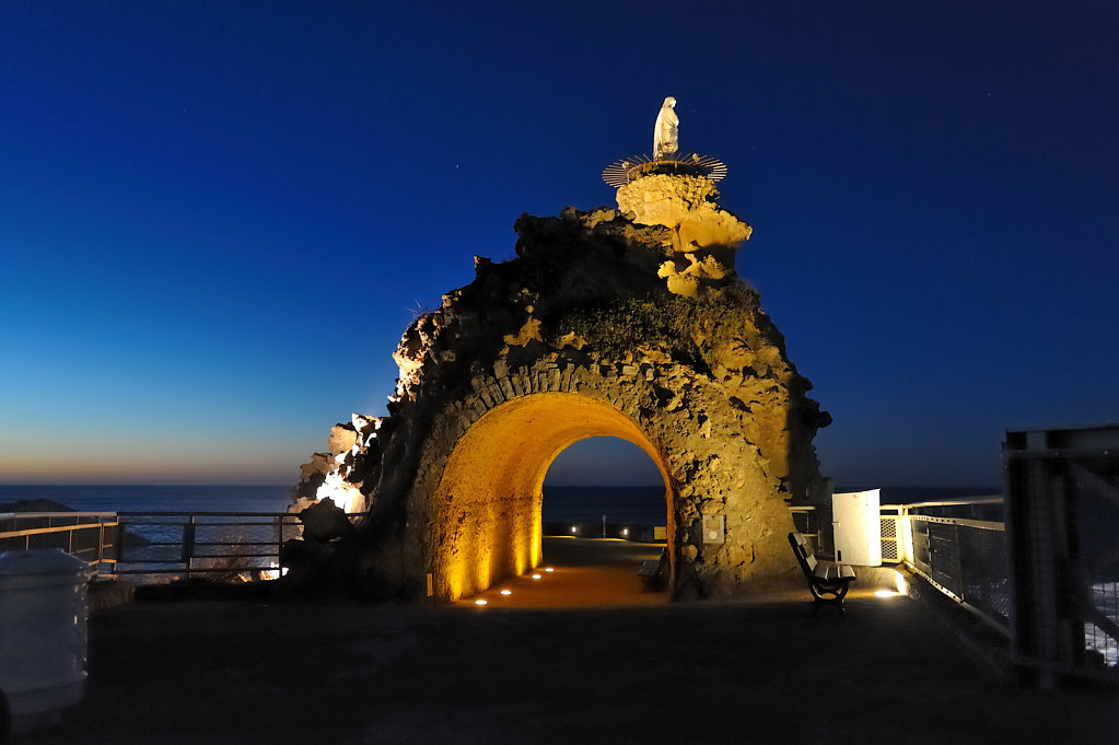 The Rock of the Virgin Mary - Biarritz, France