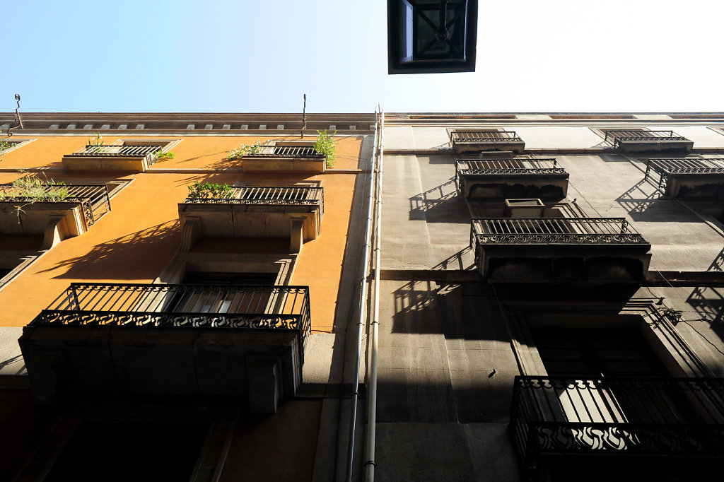 Under the balconies - Series 2/2 - Barcelona, Spain