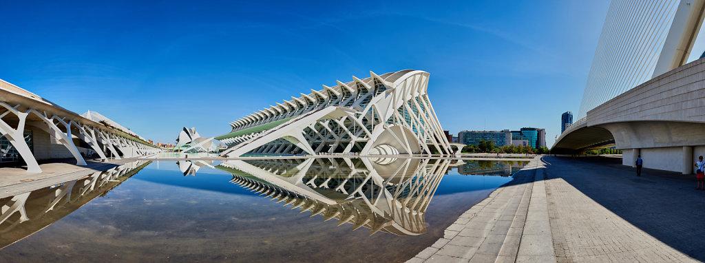 La Ciutat de les Arts i les Ciències - Valencia, Spain