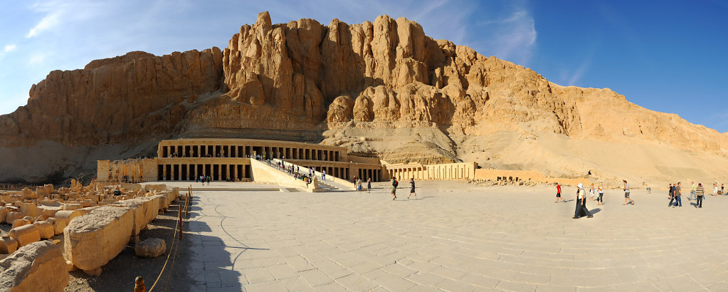 The temple of Hatshepsut - Deir el Bahari, Egypt
