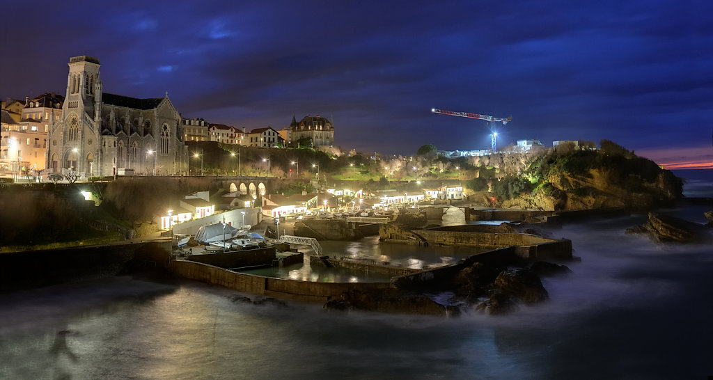 Fishermen harbor - Biarritz, France