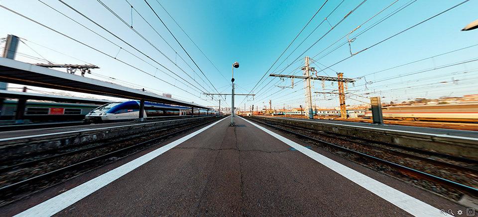 Gare Toulouse-Matabiau - Toulouse - FRANCE