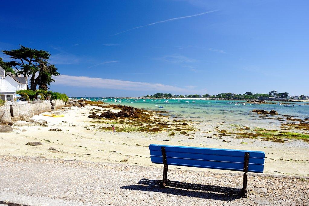 Brignogan beach, France