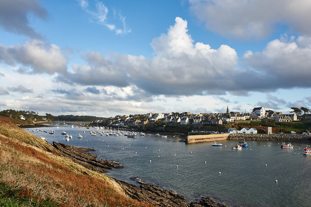 The harbor of Le Conquet - Brittany, France