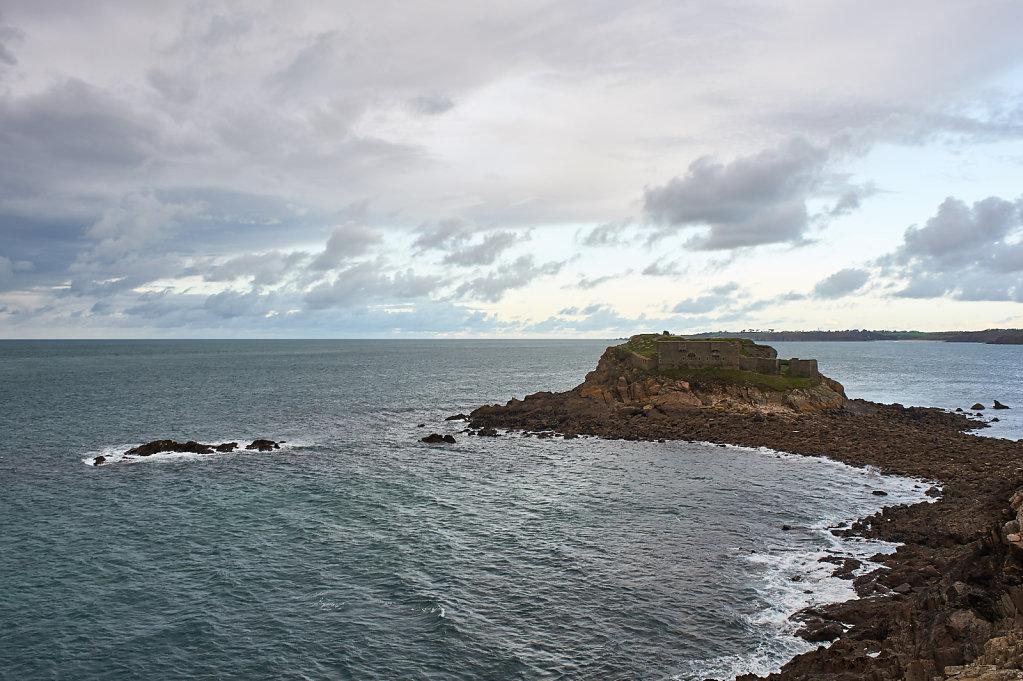 Fort of Îlette Kermorvan - Brittany, France