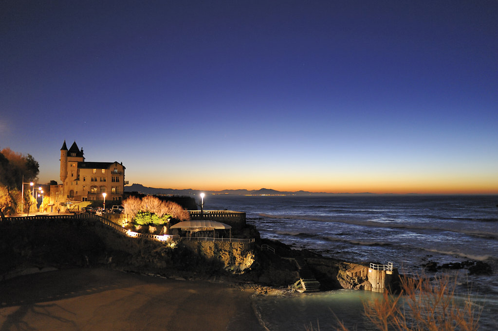 The Beach of Port-Vieux - Biarritz, France