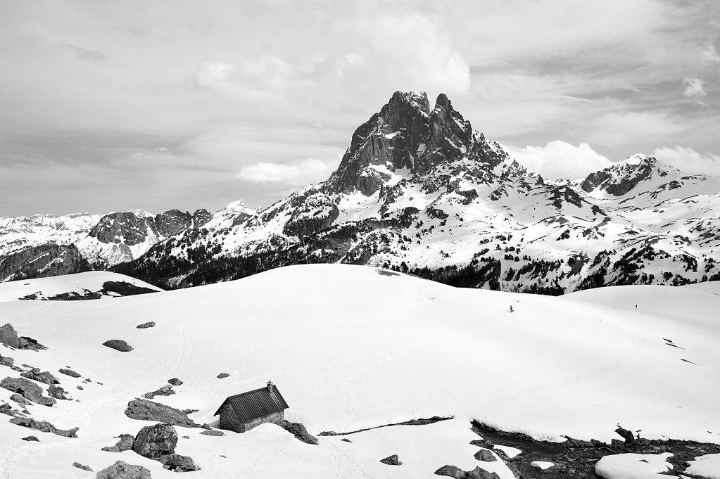 The peak of Midi d'Ossau - Pyrenees, France