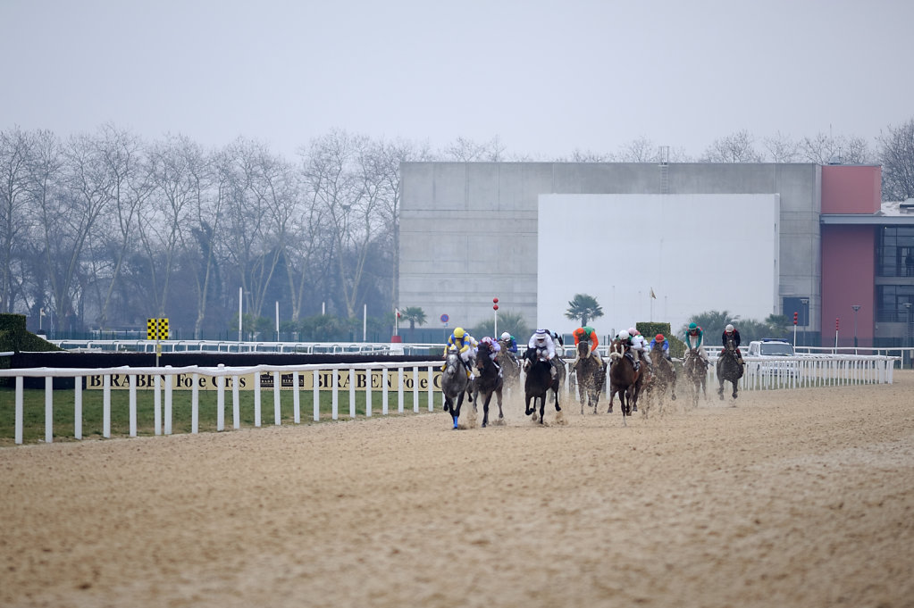 Horse Racing - Racecourse Angers / Ecouflant - Finish, France