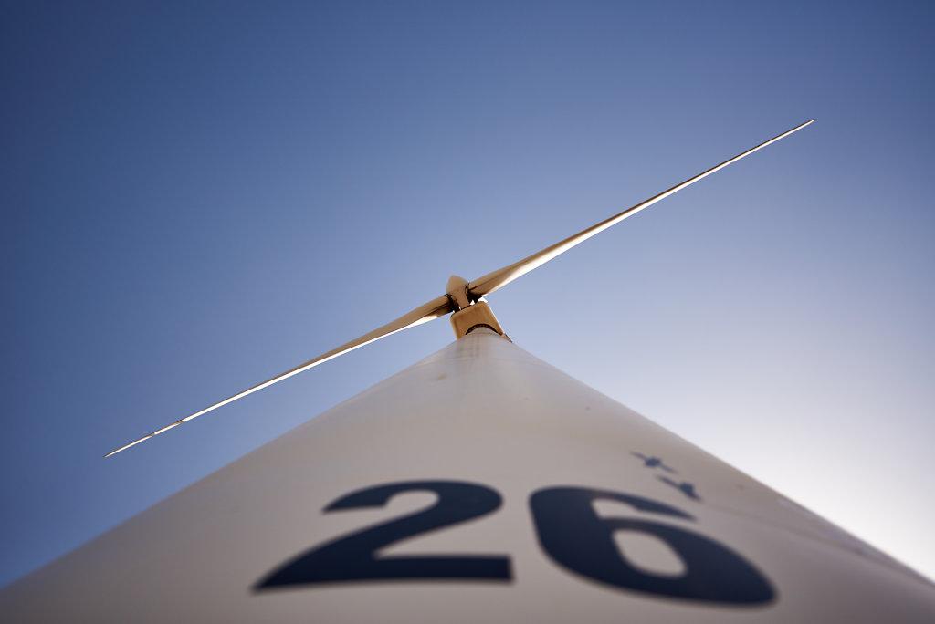 The 26th wind turbine - El marchal de Anton Lopez, Spain