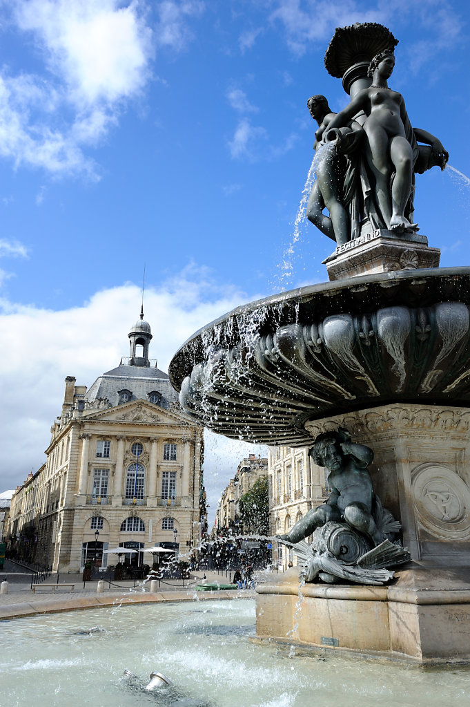 Fountain of the Three Graces - Bordeaux, France