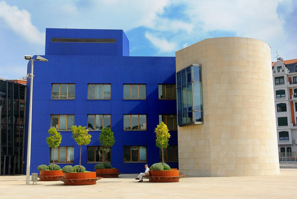 The blue house - Bilbao, Spain