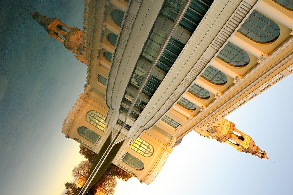 The double Pau Casino, France