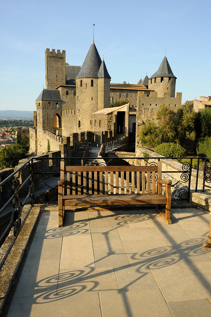 The castle of carcassone - France