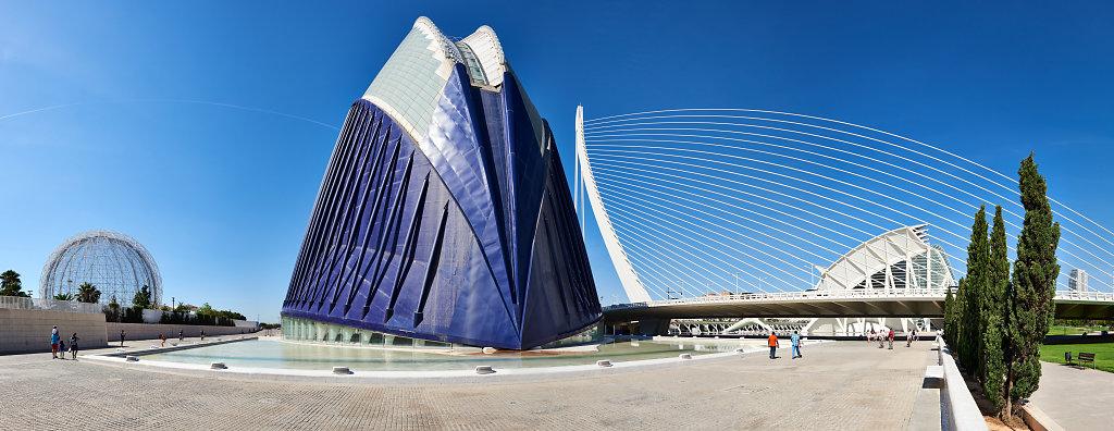 Ciudad de las Artes y las Ciencias, Agora - Valencia, Spain