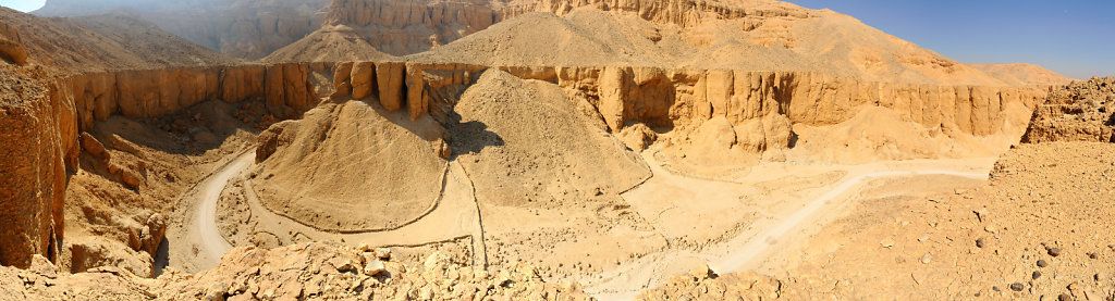 Canyon near the Valley of the Kings - Egypt