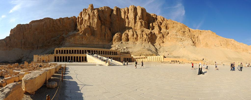 The temple of Hatshepsut - Deir el Bahari, Egypt