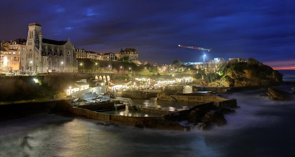 Fishermen harbor - Biarritz, France