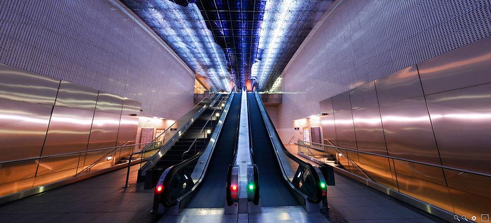 Métro - Station Carmes II - Tisséo - Toulouse - France