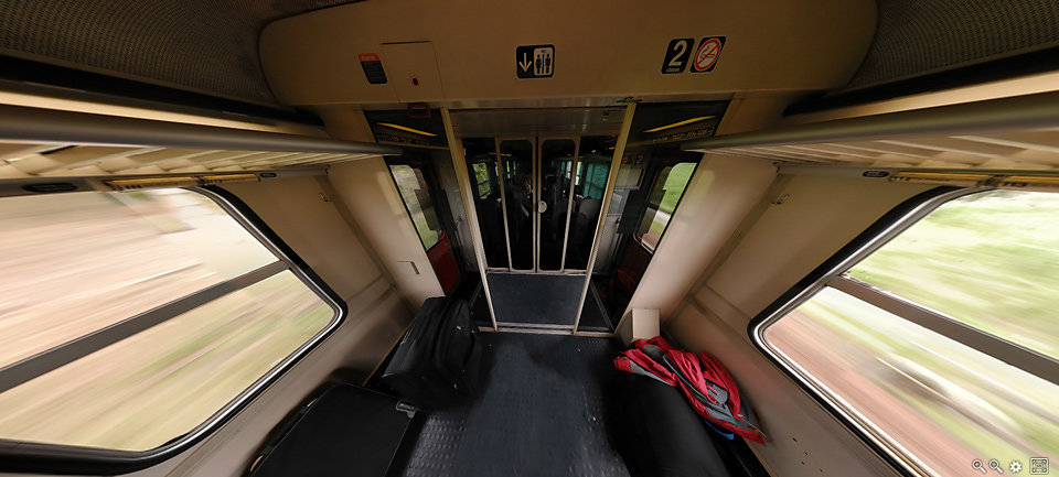 SNCF, Corail 67712  Dax --> Pau  ,France