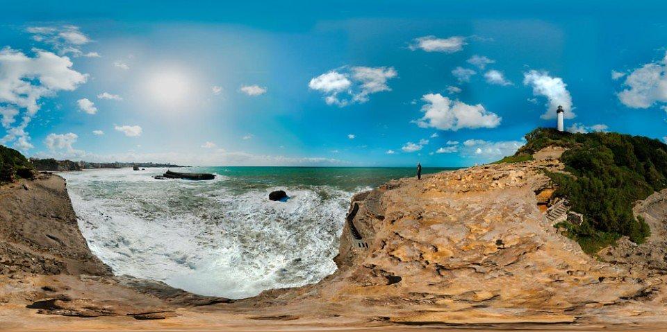 Le Phare de Biarritz - Pointe St-Martin - Biarritz - FRANCE