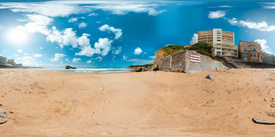 Plage de Miramar - Villa Begonia - Biarritz - FRANCE
