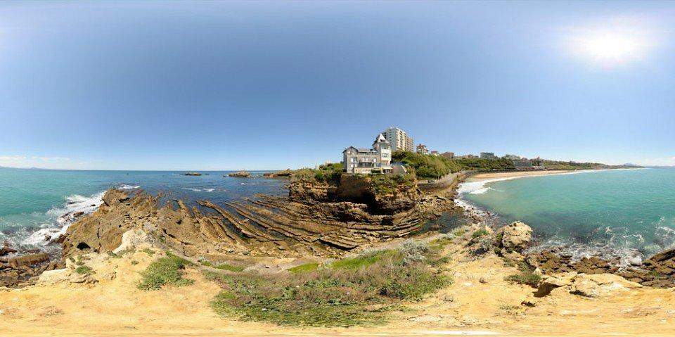 Le Rocher de la Villa Belza - Biarritz - FRANCE
