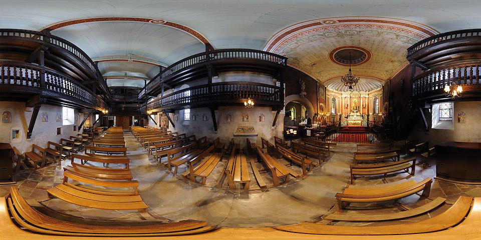 L'église Saint Jean Baptiste d'Arcangues - ARCANGUES - FRANCE